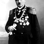 Antoni Tabaka w stroju Bractwa Kurkowego (fot. Archiwum Urzędu Miasta i Gminy Swarzędz)
