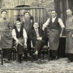 Bracia Nowaccy z pracownikami (1936 r.)(fot. Archiwum Swarzędzkiego Centrum Historii i Sztuki)