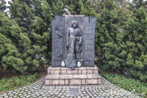 Figura Świętego Józefa, ul. Wrzesińska 38 (skrzyżowanie z ul. Polną)