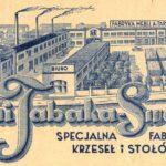 Rycina z katalogu fabryki Antoniego Tabaki (lata 30. XX w.)(fot. Archiwum Swarzędzkiego Centrum Historii i Sztuki)