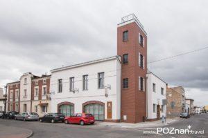 Swarzędzkie Centrum Historii i Sztuki, dawna remiza Ochotniczej Straży Pożarnej, ul. Bramkowa 6 (wejście od ul. Mickiewicza)